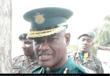 Kwame Ansu Takyi is Comptroller General of Ghana Immigration Service