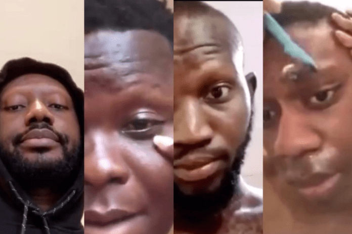 Pappy Kojo fans shave off their eyebrows for GHC 100