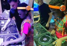 DJ Switch meets DJ Skrillex in Cali.