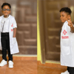 The son of Shatta Wale and Michy, Majesty