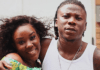 Stonebwoy and his wife, Dr Louisa