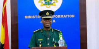 Deputy Comptroller-General, Ghana Immigration Service, Laud Affrifah