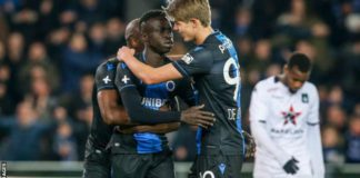 Club Bruges beat Cercle Bruges 2-1 on 7 March in their last league game before football in Belgium was suspended