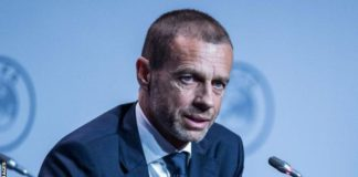 Uefa president Aleksander Ceferin says it would be better to play behind closed doors than not at all
