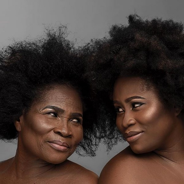 Lydia Forson and mother