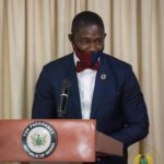 Dr Bernard Oko Boye, deputy health minister