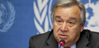 Antonio Guterres, General-Secretary of the United Nations