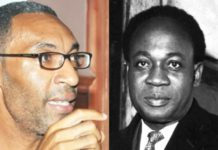Sekou Nkrumah and father Kwame Nkrumah