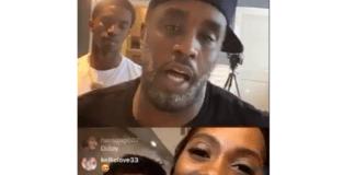 Tiwa Savage and P. Diddy