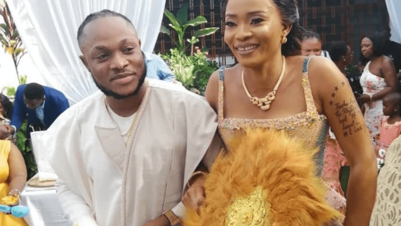 Keche Andrew's wife replies critics who claim she is an old woman ...