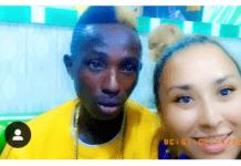 Patapaa and his girlfriend, Liha Miller