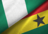 File Photo: Ghana and Nigeria flags