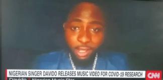 Davido talks on CNN
