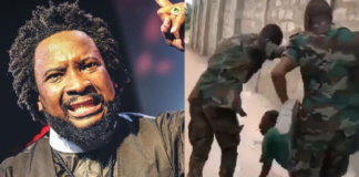 Sonnie Badu takes on Ghanaian soldiers bullying citizens during lockdown