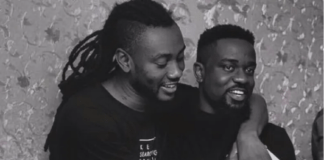 L-R: Pappy Kojo and Sarkodie