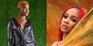 L-R: Fella Makafui & Sister Derby