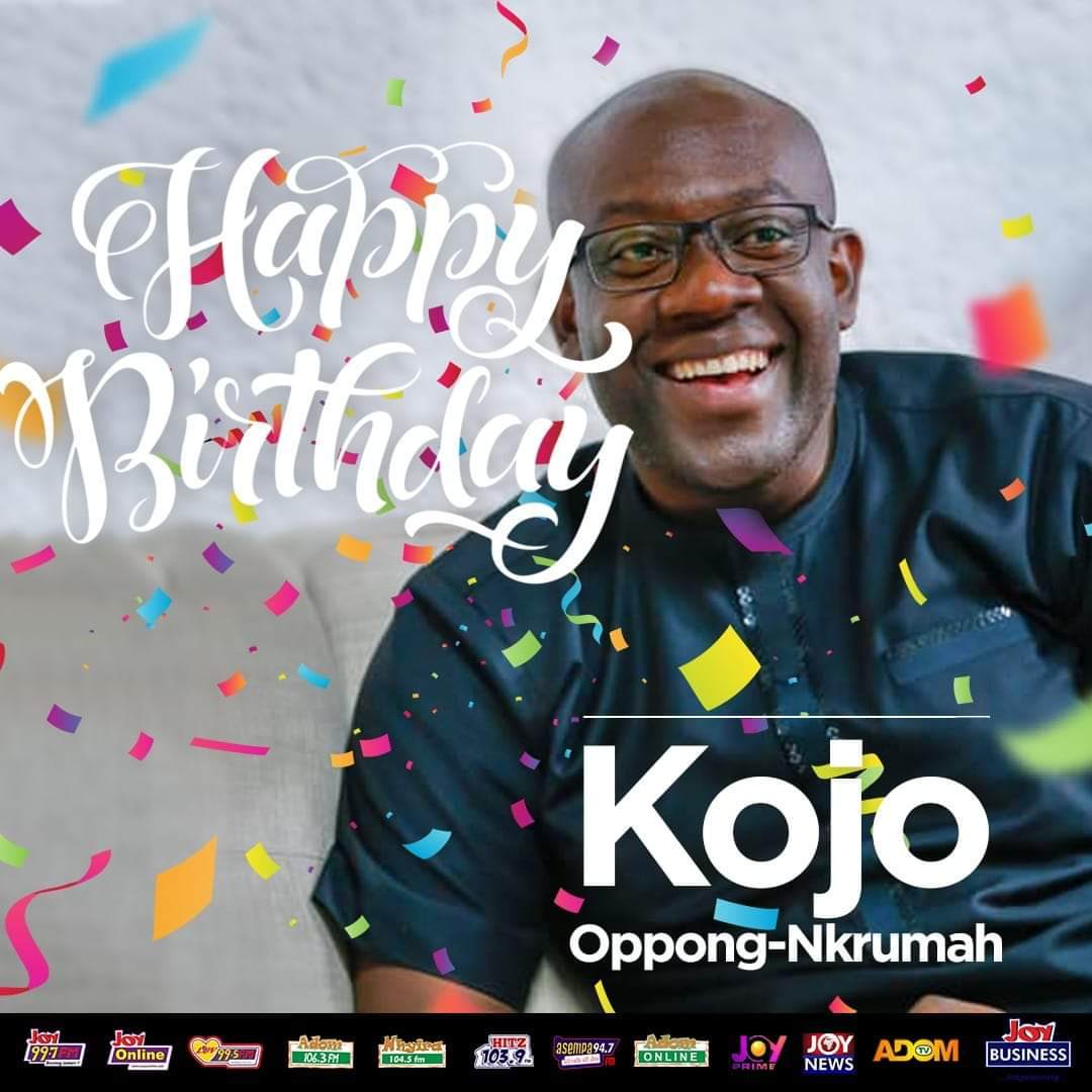 Ghanaians celebrate Kojo Oppong on 38th birthday
