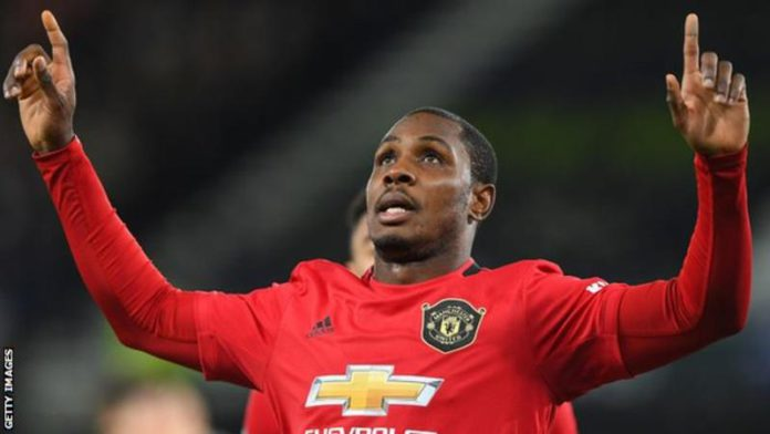 Ighalo has scored four goals in eight games for Manchester United