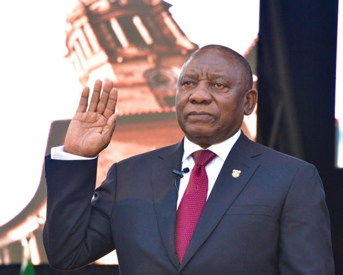 South African President, Cyril Ramaphosa