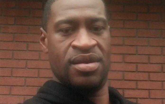 George Floyd black man killed by police officers