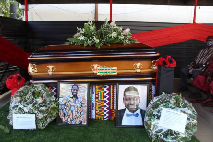 TV3 Editor, Edward Akwabi laid to rest