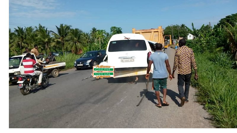 3 dead in Nsawam Adoagyiri accident
