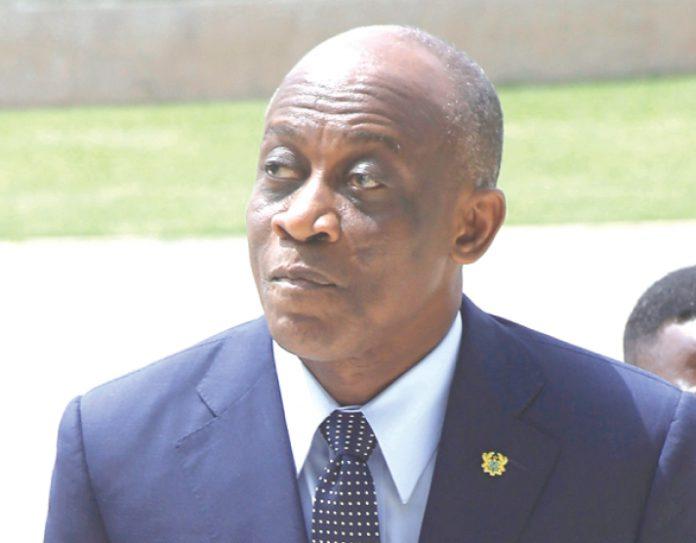 Seth Terkper, Former Finance Minister