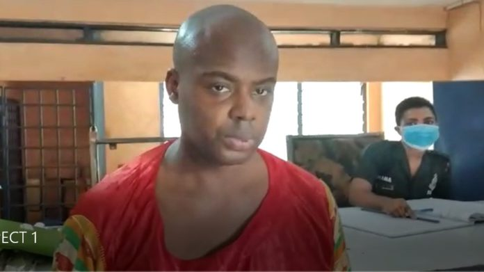 Suspect, Victor Steve Nana Kamkam