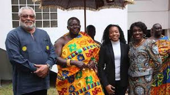 rawlings and otumfuo