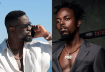 File Photo: L-R: Sarkodie and Kwaw Kese