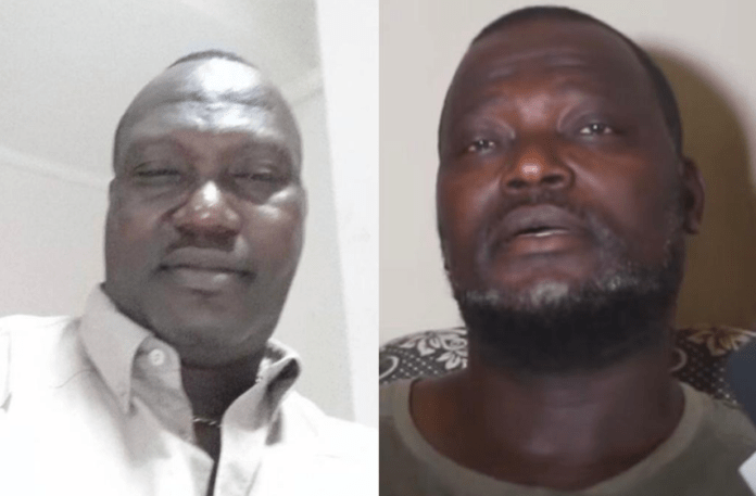 File Photo: L-R: Bishop Nyarko and his brother, Isaac Darko