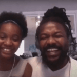 Samini and his daughter
