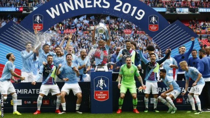 Manchester City beat Watford 6-0 in last year's FA Cup final