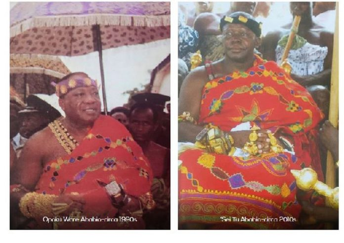 The report claims both Kings have worn the same cloth