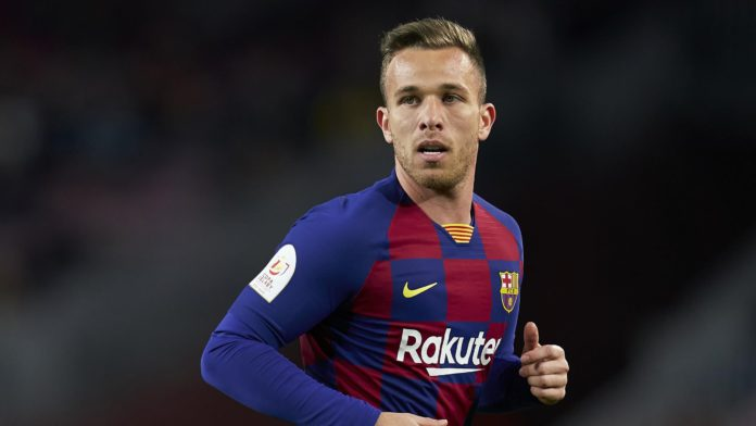 Arthur Melo of FC Barcelona looks on during the Copa del Rey Round of 16 match between FC Barcelona and CD Leganes at Camp Nou on January 30, 2020 in Barcelona, Spain Image credit: Getty Images