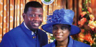 Pastor Adeboye and wife Foluke