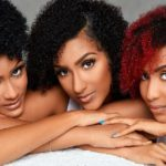 Actress Juliet Ibrahim with her sisters, Sonia Ibrahim and Nadia Ibrahim