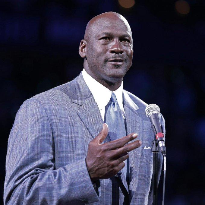 Michael Jordan is