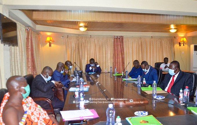 New Asante Kotoko Board of Directors