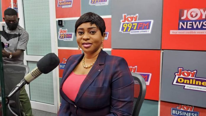 Member of Parliament for Dome Kwabenya Constituency, Mrs Sarah Adwoa Sarfo