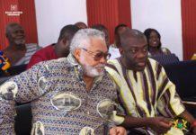 Rawlings and Kojo Oppong Nkrumah