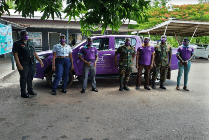 Hollard Ghana donates to Kamina Barracks Hospital