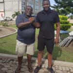 Koku and John Dumelo