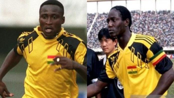 Tony Yeboah and Tony Baffoe