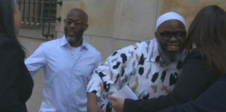 Both men were released together in May 2019