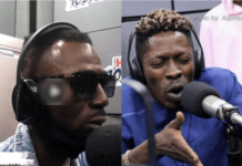 Shatta Wale clashes with SM Militant, Joint 77 at Hitz FM