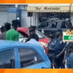 Shatta Wale sends police to collect car he bought for Joint 77 at Multimedia's premises