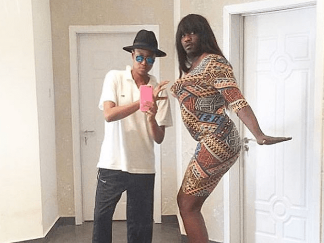 From left: Yvonne Nelson and John Dumelo