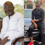 File Photo: L-R: Assin Central MP Kennedy Agyapong and Ibrah One (Wan)