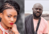 From left: eShun and her ex-manager, Stephen Mensah